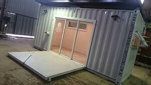 CONVERTED SHIPPING CONTAINER - BRAND NEW & PROFESSIONALLY FITTED Ballarat East Ballarat City Preview