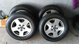 MICHELIN Primacy MXV4 with Chevrolet aluminum wheels