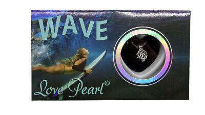 Pearl Genuine Gift Box (Love Pearl Jewlery Wave Ocean Surfer Sea Pendant + Real Pearl Necklace Gift Box )