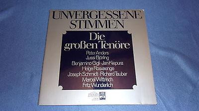 Vinyl Unvergessene Stimmen Die großen Tenöre Anders Björling LP 62528 Parnas EMI