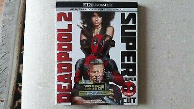 Deadpool 2 - Superduper Cut (4K UHD, Bluray, Digital - New)