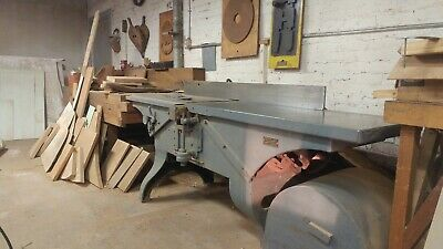 Vintage American Woodworking Machinery Company 16in Jointer