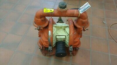 Used Wilden M4 1 12 Inch Metal Diaphragm Pump
