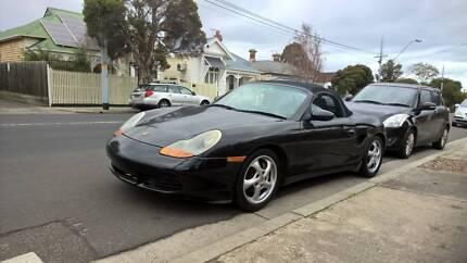 1999 Porsche Boxster Coupe manual my99 convertible