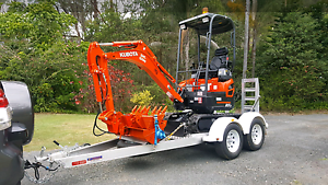Excavator Hire  $180 Oxenford Gold Coast North Preview