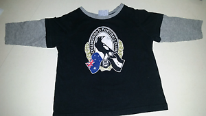 Collingwood football club supporters tee Woombye Maroochydore Area Preview