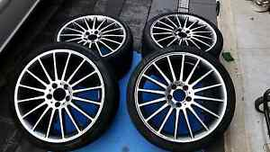 Mercedes Wheels With Tyres Stagared Kellyville Ridge Blacktown Area Preview