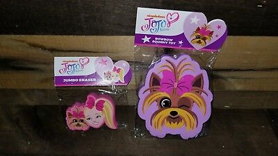 Jojo Siwa Exclusive Box Bowbow Jumbo Eraser Squishy Toy Culturefly New