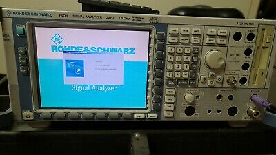 Rohde Schwarz Fsq8 20hz - 8 Ghz Spectrum Signal Vector Analyzer