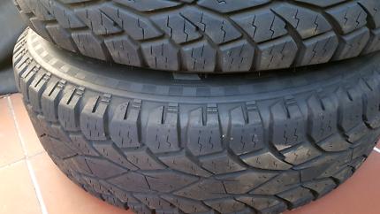Jeep Wrangler tyres $100