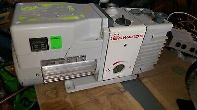 Edwards Rv3 Rotary Vane Vacuum Pump Rv3 A65201903. 110v 50hz 115-120v 60hz.