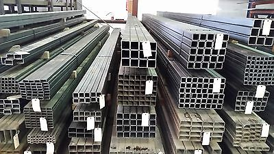 2 X 2 X .120 Wall Square Tubing Steel 4 Pieces Of 6 Lengths