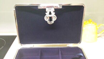 Silver jewellery box! Brand new. Caloundra Caloundra Area Preview