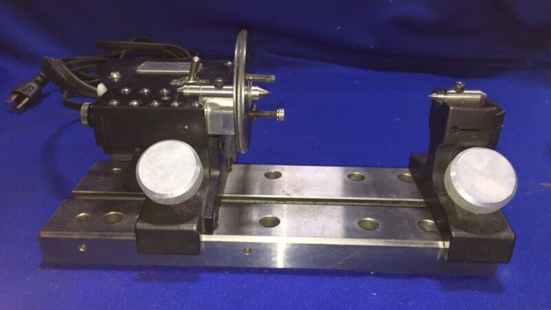 Harig Lectric Centers for Precision Motorized grinding between centers