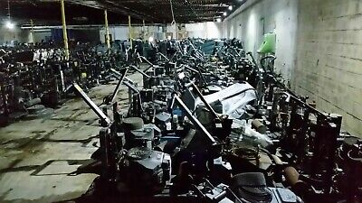 Propane Buffer Burnisher 27 18hp 603cc Kawasaki Engine In As-is Condition
