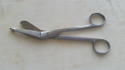 Lister Bandage Scissors 7.25 German Stainless Ce First Aid Surgical Medical Emt