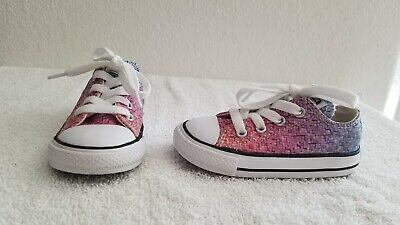 Converse All Star Chuck Taylor Low Top Toddler Girls Shoes Size 6