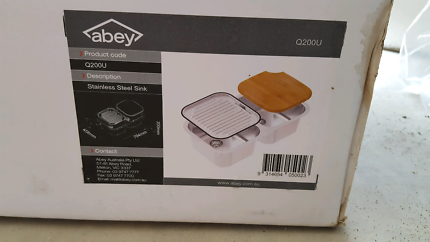 Abey Q200U undermount sink