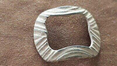 Superb Tudor/post Medieval bronze buckle. Please read description L147f