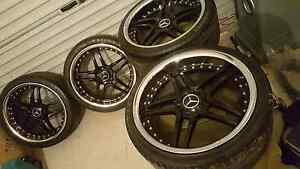 """Mercedes 19"""" rims and tyres (PRICE DROP) Adelaide CBD Adelaide City Preview"""