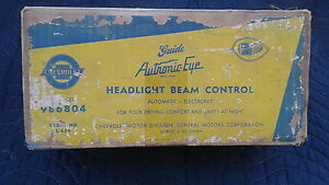 1953 1954 CHEVROLET NEW OLD STOCK NOS AUTRONIC EYE AUTOMATIC HEADLIGHT DIMMER