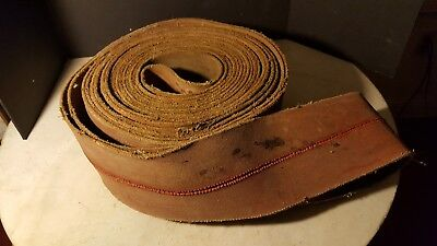 Antique Tractor Hit Miss Steam Engine Endless Belt Project Part