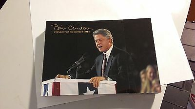 Continental Postcard -- Bill Clinton  President of the United States