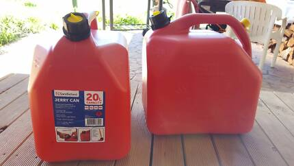 2x Jerry Can 20l Squat Style
