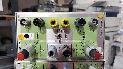 Pulse Instruments Pi-702 Dual Bipolar Bias Supply For Tektronix Tm500 System