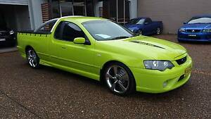 2006 Ford Falcon XR8 BF MKII 5.4 V8 Utility - 6SP AUTO - TOXIC Waratah Newcastle Area Preview