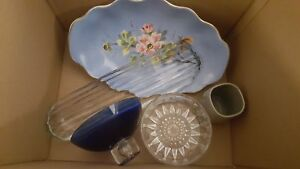 Box lot of glassware. Take all for $10