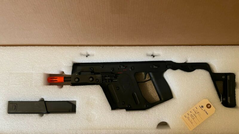 Krytac KRISS Vector Licensed AEG Gun - Automatic 6mm SMG