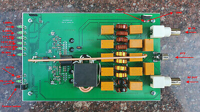 50W HF Potencia Amplificador Pa Con / Lpf ,FT-817 Icom-703 ICOM-705 Elecraft...