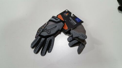 Mizuno Techfire Switch Batting Gloves (grey - Size Small)