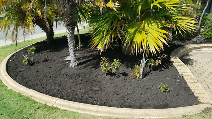 Mulch and soil supply + spread and gardening