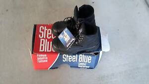 Steel capped boots (BRAND IS STEEL BLUE) Acacia Ridge Brisbane South West Preview