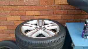 Ford factory alloy wheels 18inch Moorebank Liverpool Area Preview