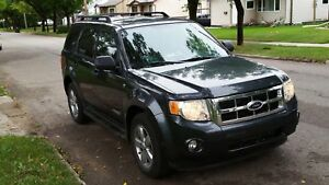 REDUCED 2008 Ford Escape XLT SUV, Crossover Leather,sunroof