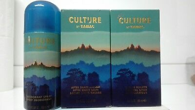 Culture by Tabac by Maurer & Wirtz EDT 100ml + After Shave 100ml + Deo 150ml segunda mano  España