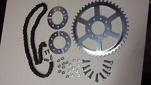 Kettenrad und Kette für MAW - Fahrradhilfsmotor