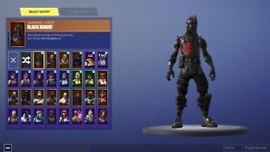 Black knight account for sale (I DONT GO FIRST),