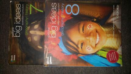 Oxford geography/history text books years 7&8