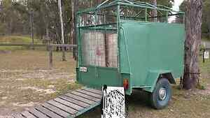 Small farm animal float/trailer Greenbank Logan Area Preview