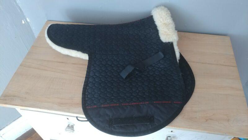 Horsedream Christ Champ Sheepskin Padded Dressage Saddle Pad