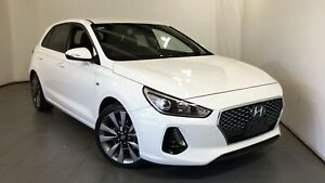 2017 Hyundai i30 PD MY18 SR D-CT White 7 Speed Sports Automatic Dual Clutch Hatchback Elizabeth Playford Area Preview