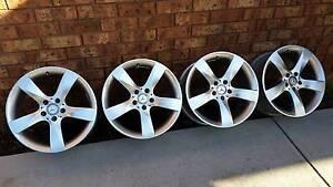 "Genuine Mercedes Benz wheels 5x112 18"" rims vw golf skoda audi Tootgarook Mornington Peninsula Preview"