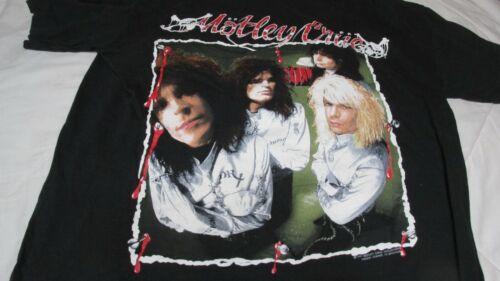 Motley Crue 1989 Tour Concert T-Shirt  Size Large