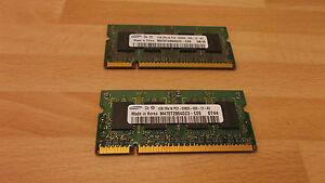 2GB (2 x 1GB)  RAM Speicher für IBM Lenovo ThinkPad R60 R61 T60 T61 X60 X61