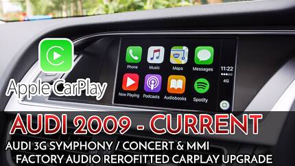 AUDI 3G Audio Apple CarPlay Retrofit Installation service