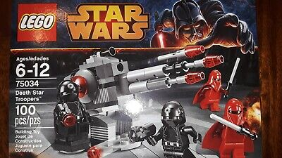 LEGO Battle Pack 75034 Death Star Troopers New/ Sealed/ Retired/ Authentic